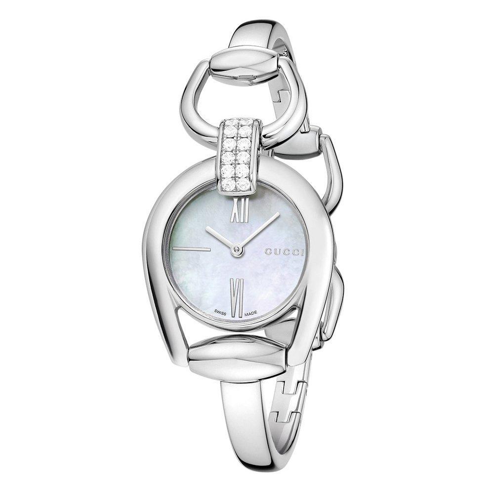 Gucci Horsebit Diamond Ladies Watch
