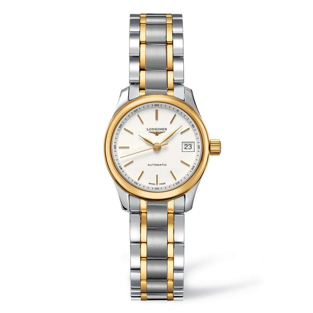 Longines Master Collection 18ct Gold Plated and Stainless Steel Automatic Ladies Watch