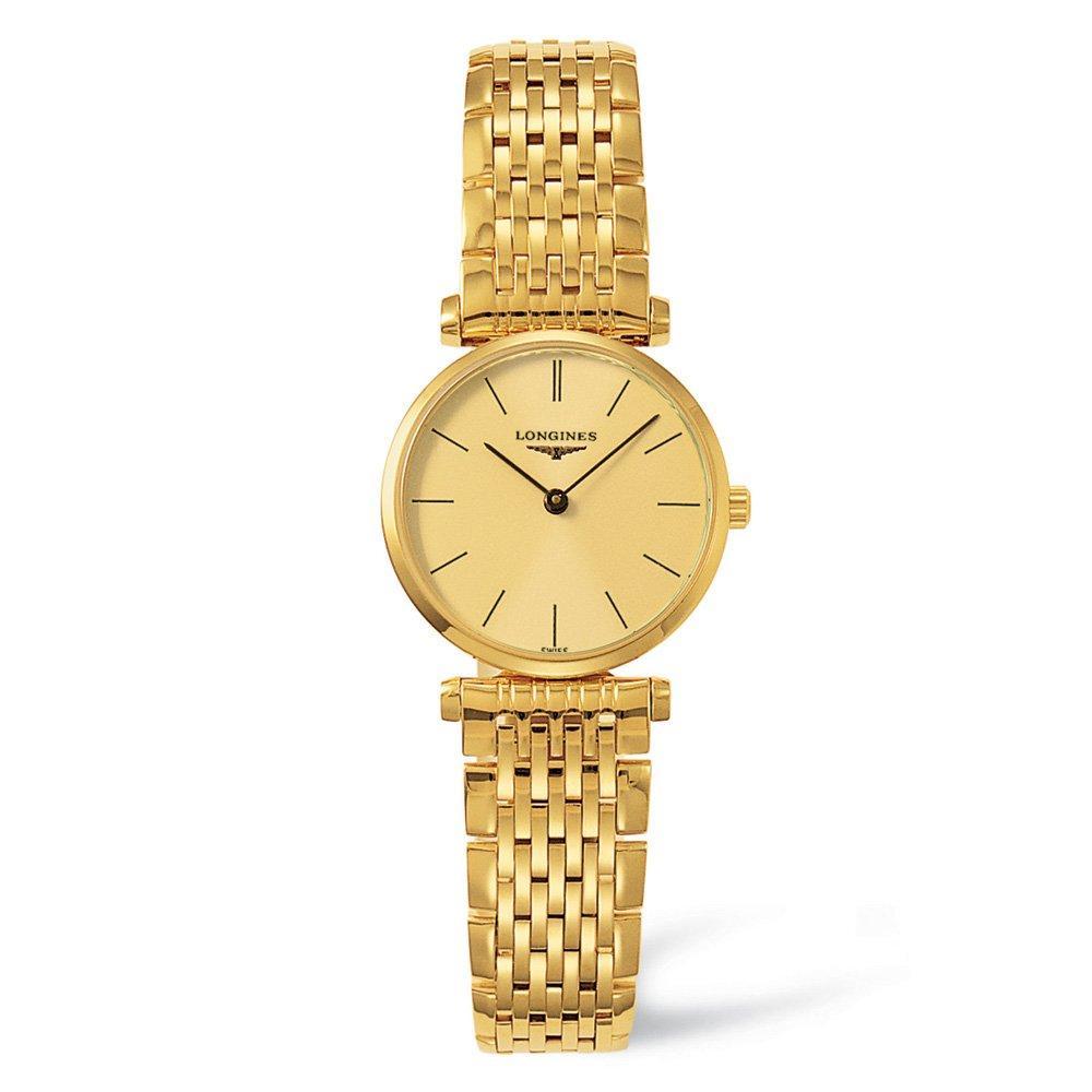 Longines La Grande Classique Gold Plated Ladies Watch