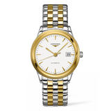 Longines La Grande Classique Gold Plated and Stainless Steel Automatic Men's Watch