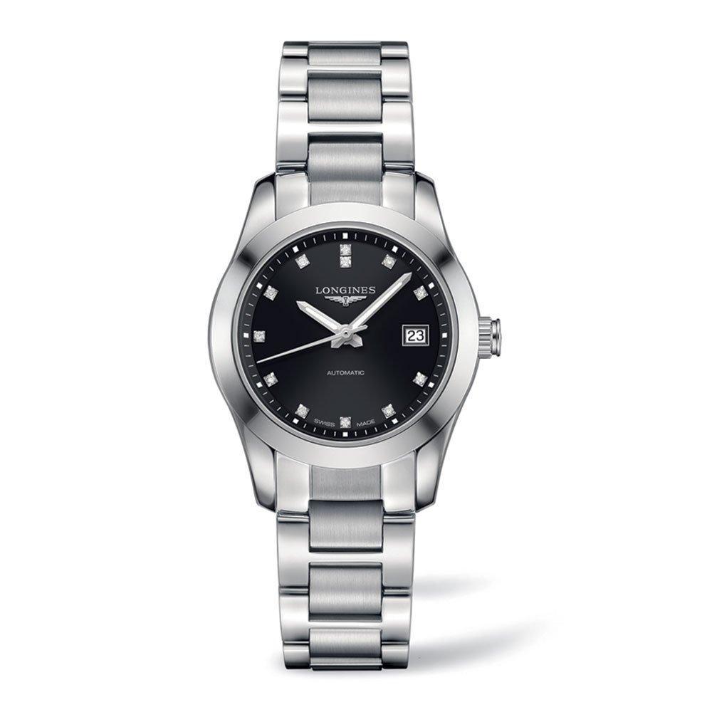 Longines Conquest Classic Diamond Automatic Ladies Watch