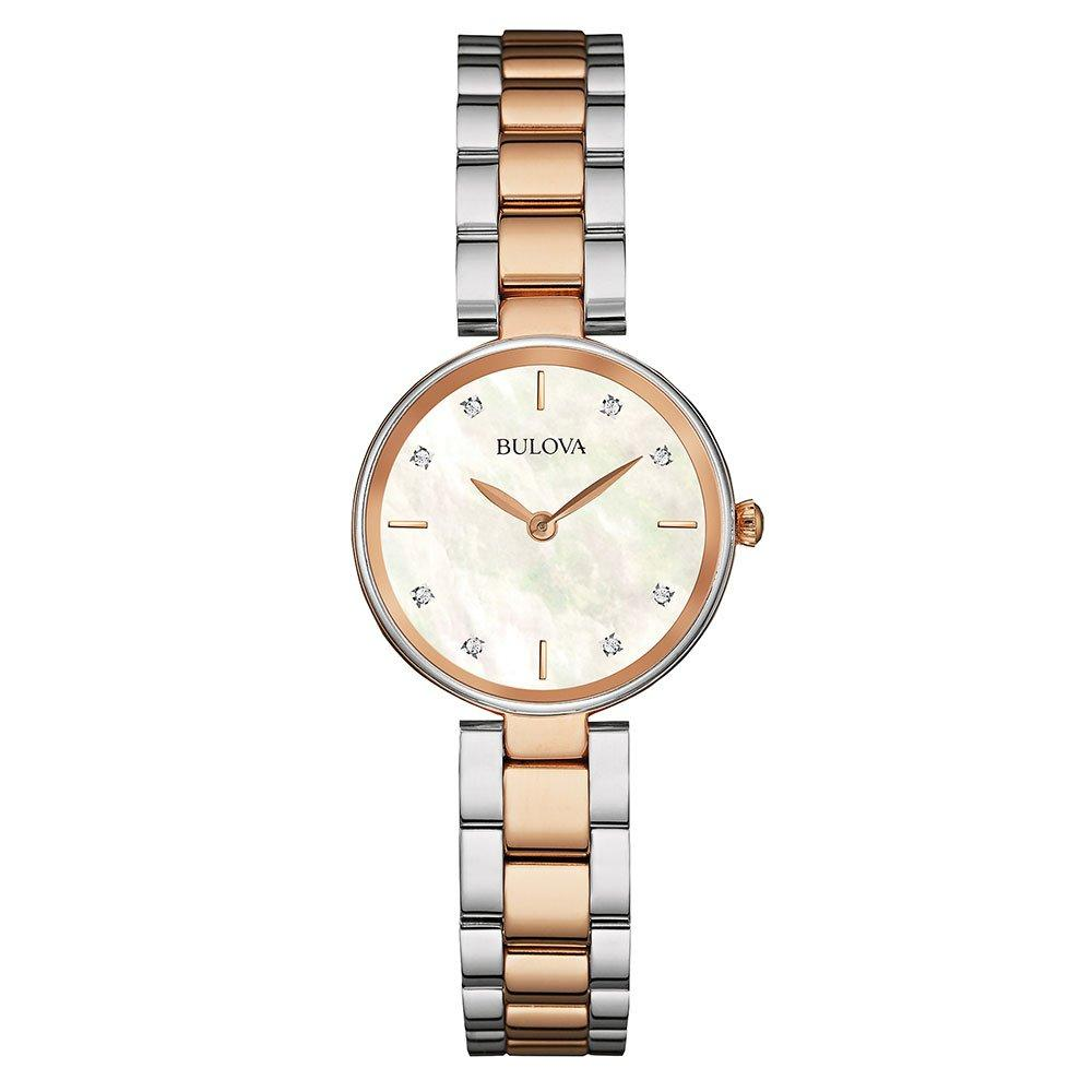 Bulova Diamond Two-Colour Ladies Watch