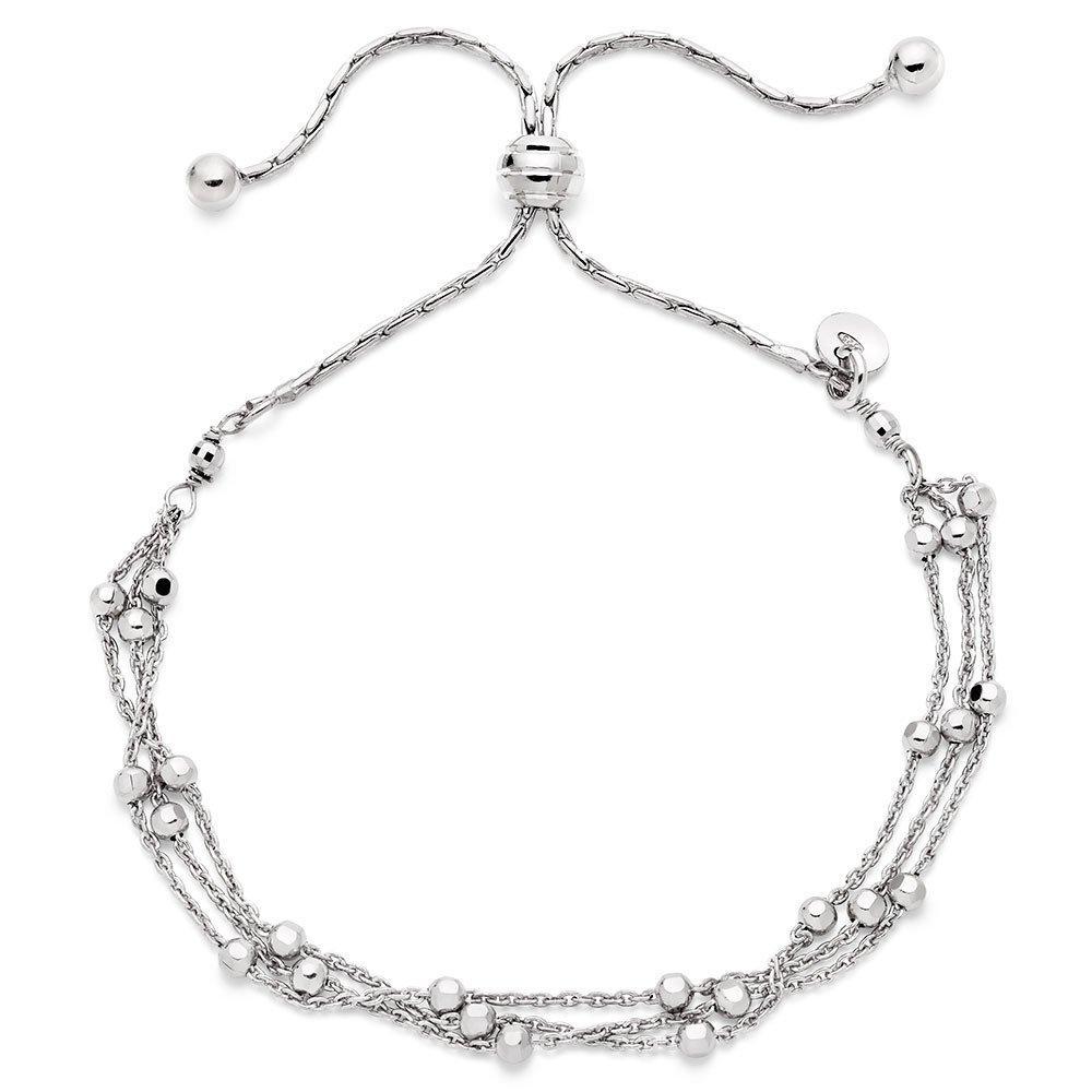 Silver Triple Strand Bracelet