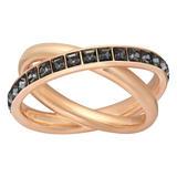 Swarovski Dynamic Rose Tone Ring