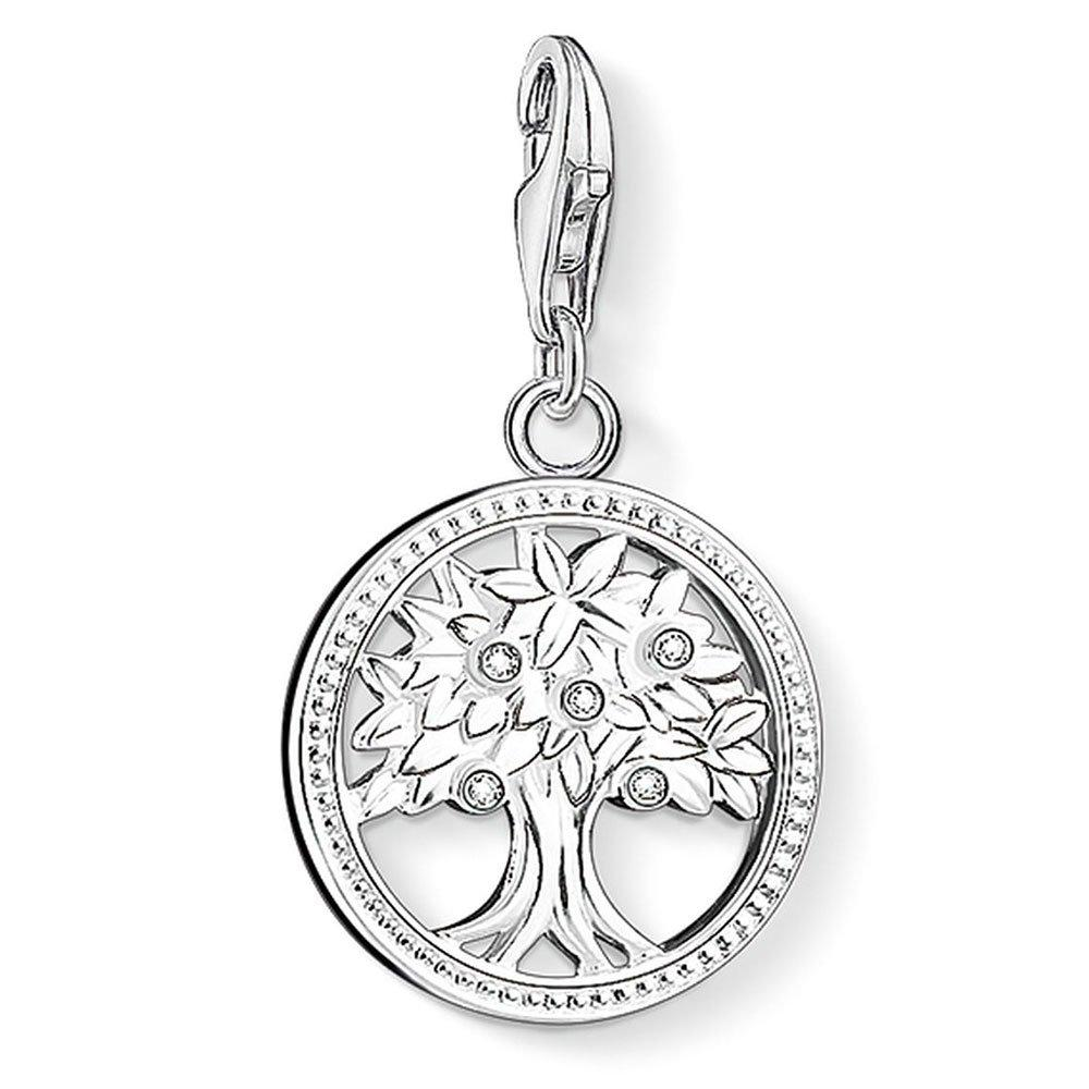 Thomas Sabo Generation Charm Club Silver Cubic Zirconia Tree of Life Charm