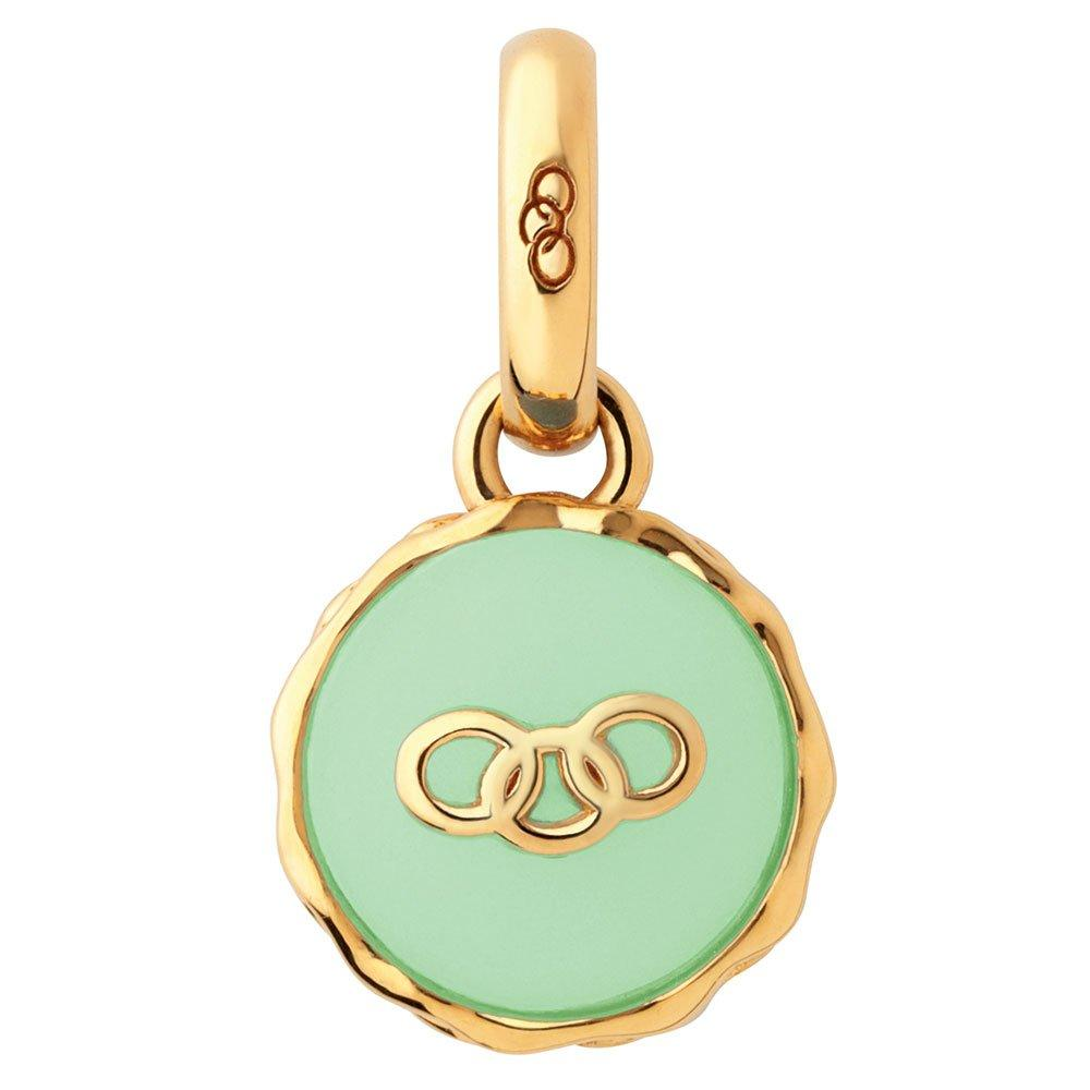 Links of London 18ct Gold Vermeil Pistachio Macaron Charm