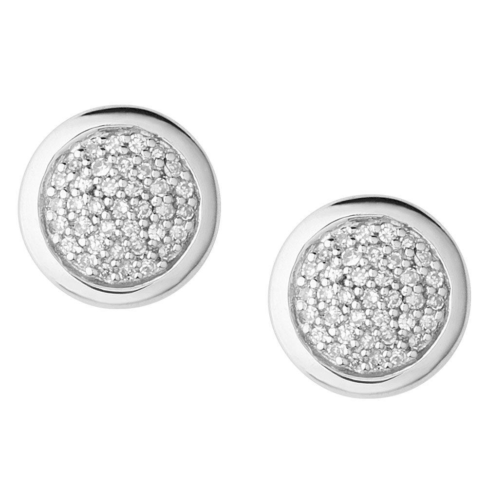 Links of London Diamond Essentials Silver Stud Earrings
