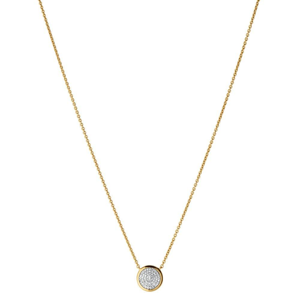 Links of London Diamond Essentials 18ct Gold Plated Round Necklace