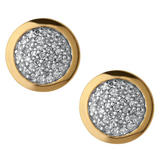 Links of London Diamond Essentials 18ct Gold Plated Stud Earrings
