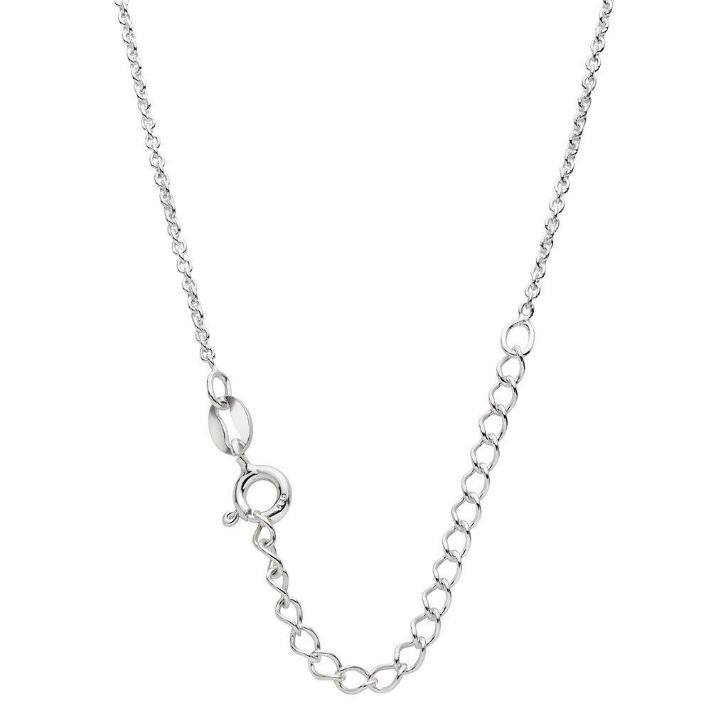 Mini B Silver Trace Chain 35cm