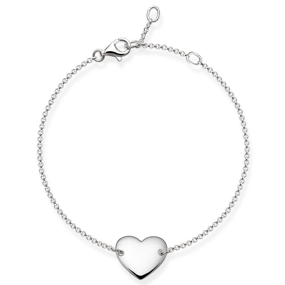 Thomas Sabo Glam & Soul Silver Heart Bracelet