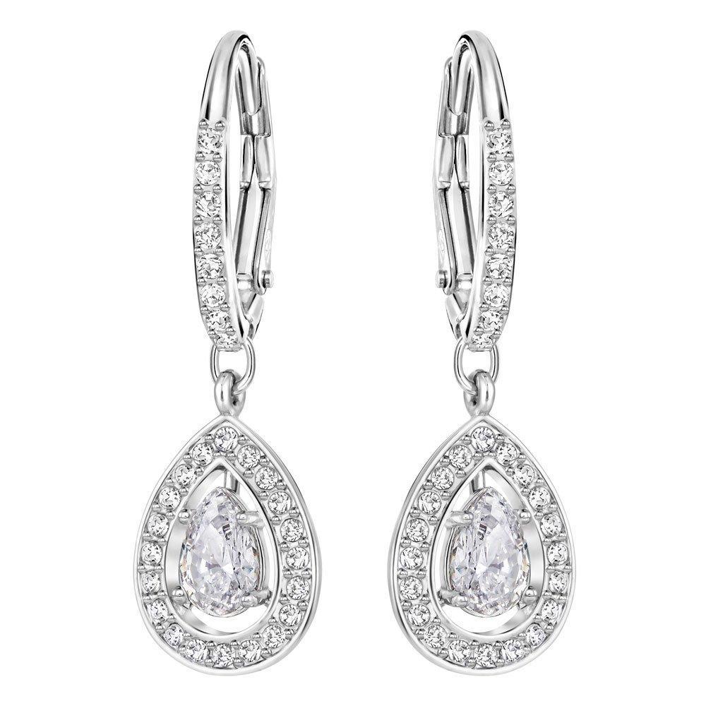 Swarovski Attract Pear Drop Earrings