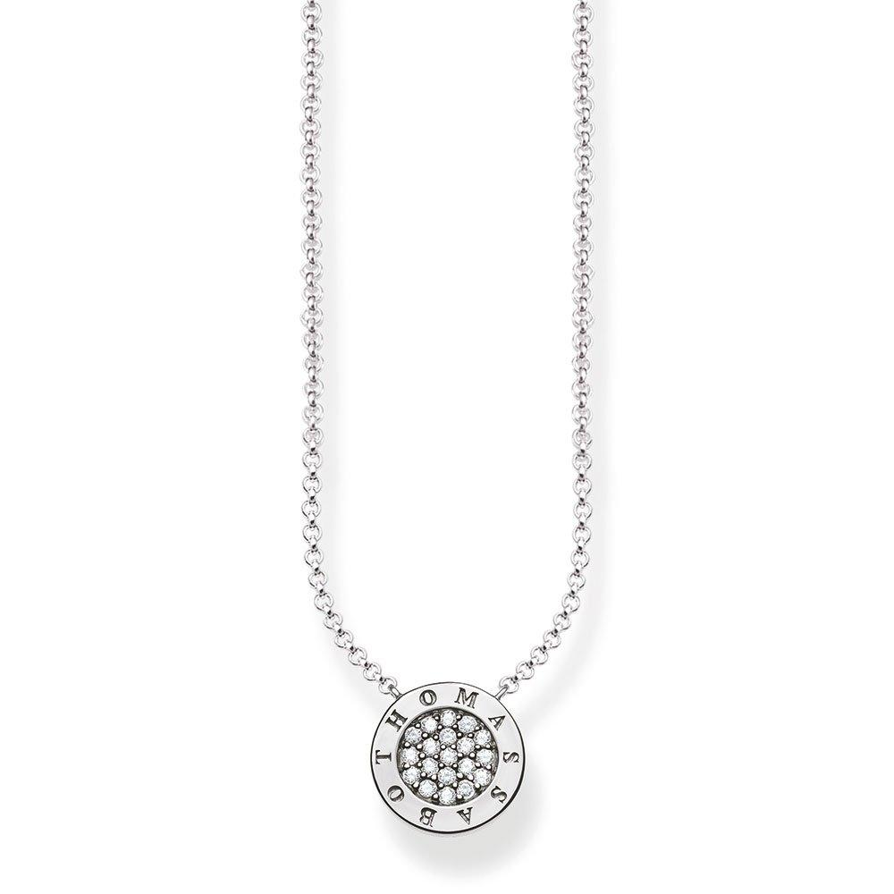 Thomas Sabo Glam & Soul Silver Cubic Zirconia Necklace