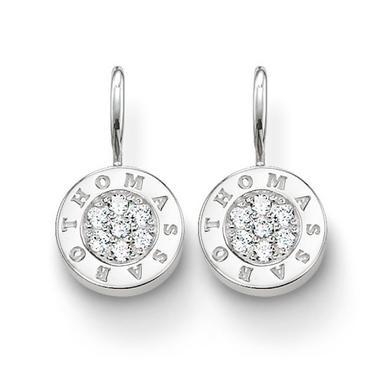 Thomas Sabo Glam & Soul Silver Cubic Zirconia Earrings