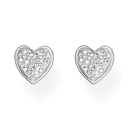 Thomas Sabo Silver Heart Stud Earrings