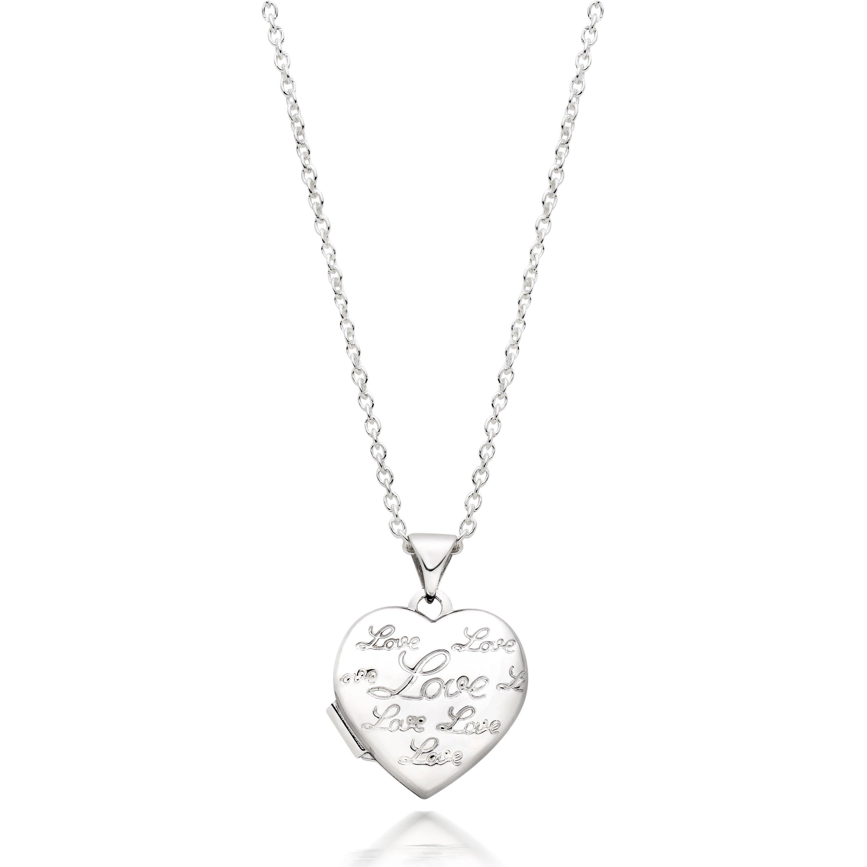 Silver Love Heart Locket