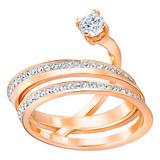 Swarovski Fresh Rose Gold Plated Ring