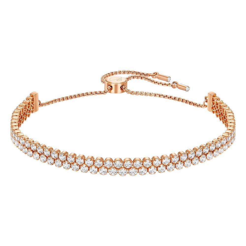 Swarovski Subtle Rose Gold Tone Crystal Bracelet