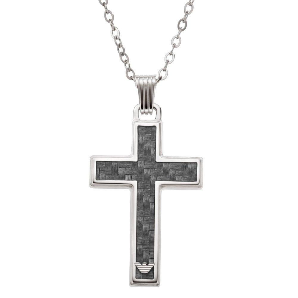 Emporio Armani Cross Pendant