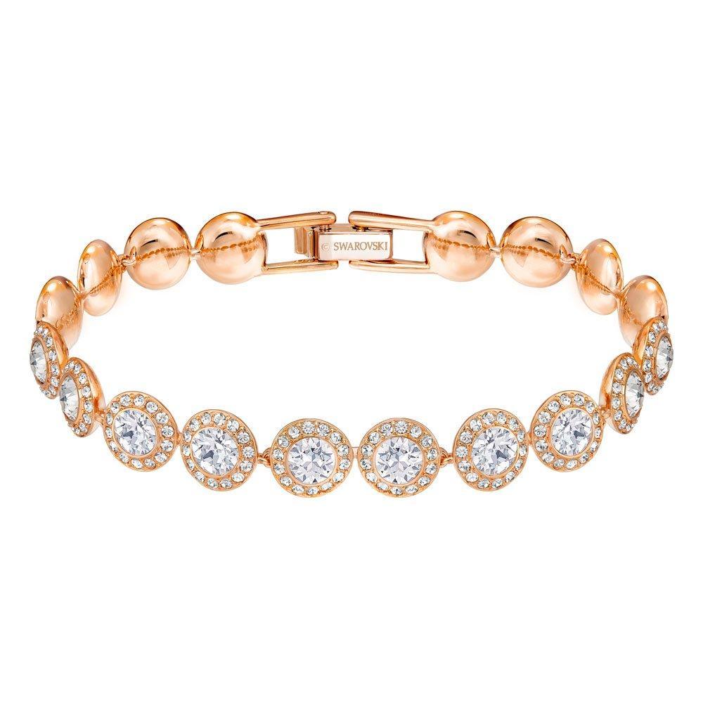 Swarovski Angelic Rose Gold Tone Crystal Bracelet