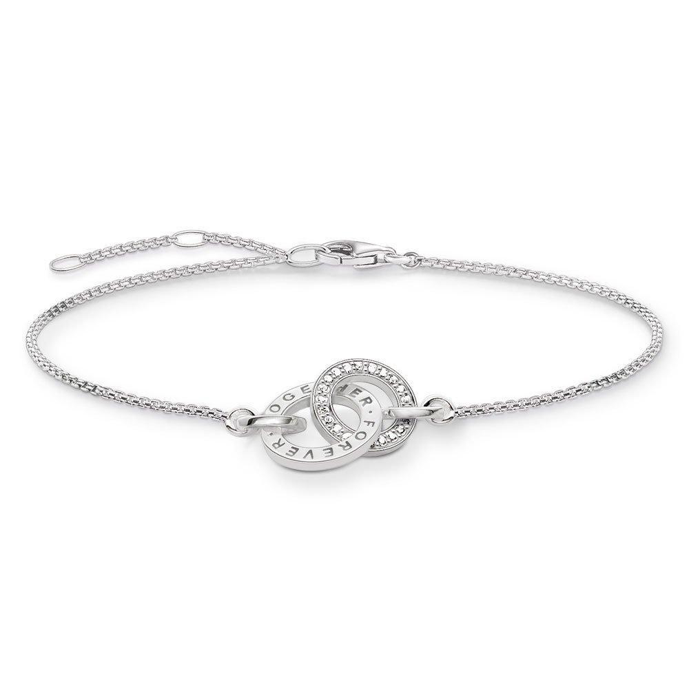 Thomas Sabo Glam & Soul Silver Cubic Zirconia Bracelet