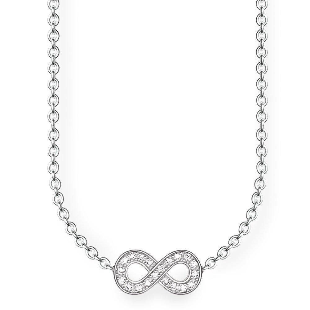 Thomas Sabo Glam & Soul Silver Diamond Infinity Necklace