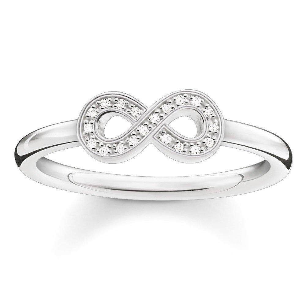Thomas Sabo Glam & Soul Silver Diamond Infinity Ring