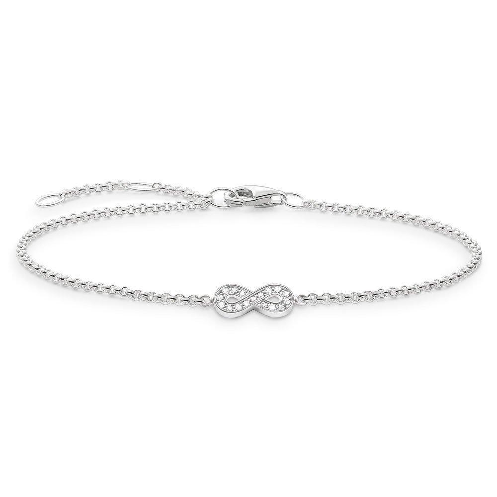 Thomas Sabo Glam & Soul Silver Diamond Infinity Bracelet