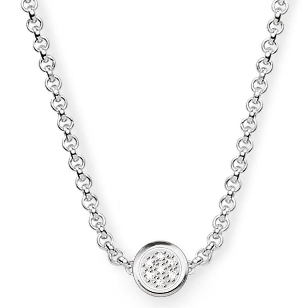 Thomas Sabo Glam & Soul Silver Diamond Necklace