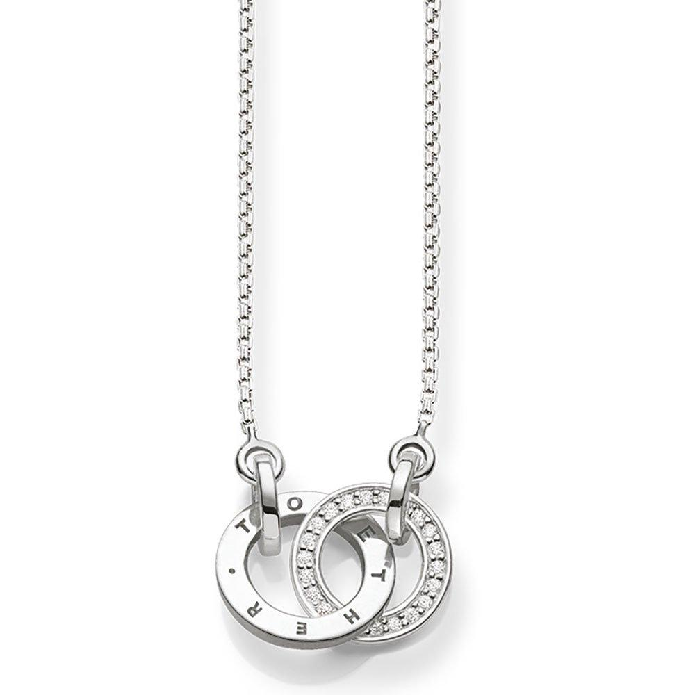 Thomas Sabo Glam & Soul Silver Diamond Necklace