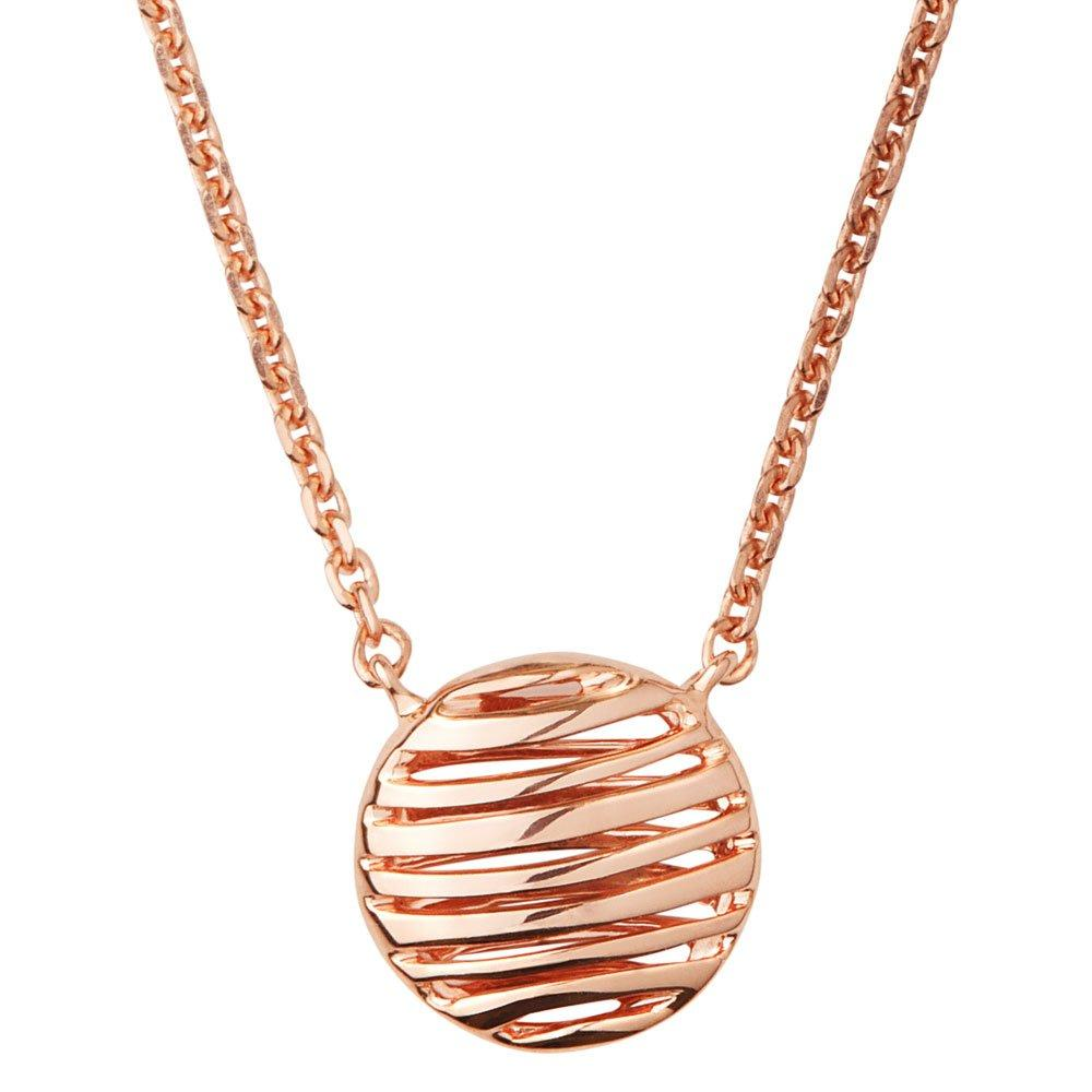 Links of London Rose Gold Plated Silver Thames Necklace