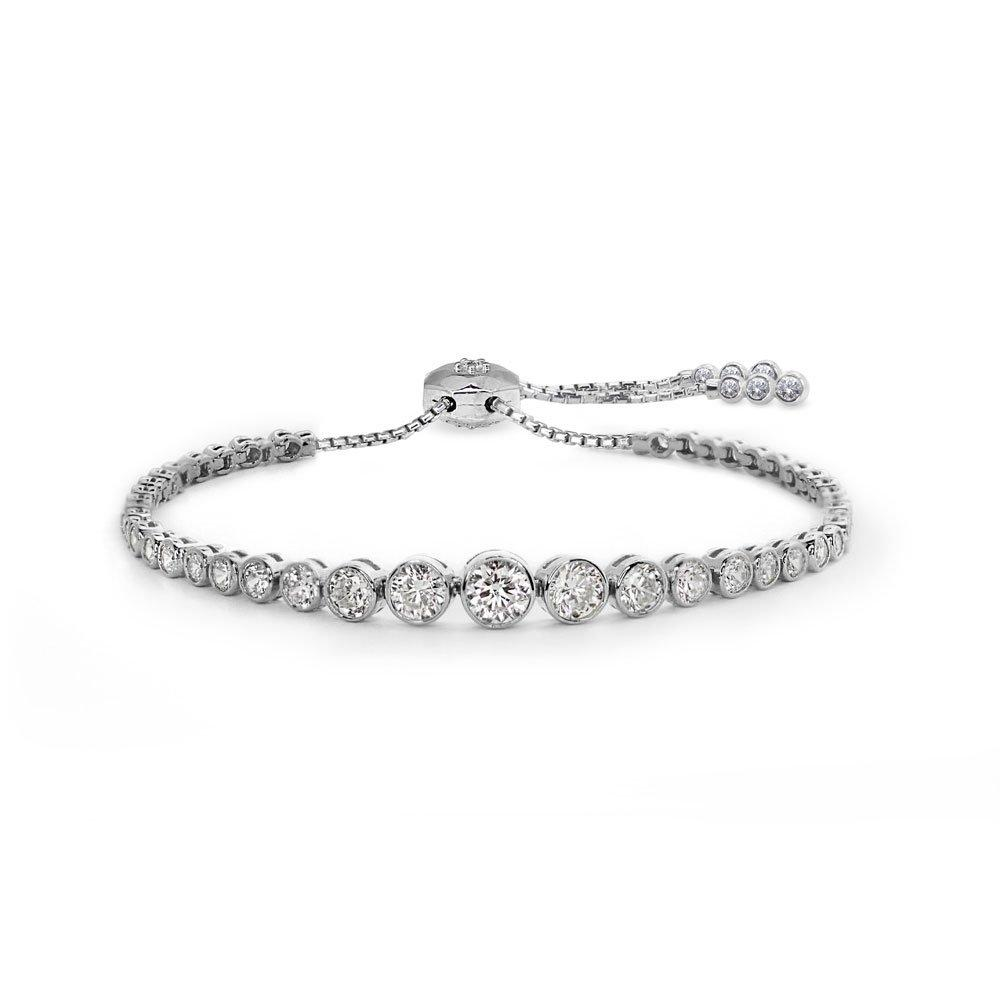 CARAT Quentin Silver Millennium Bracelet