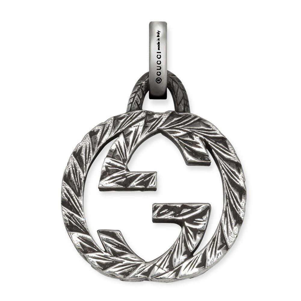 Gucci Interlocking G Silver Charm