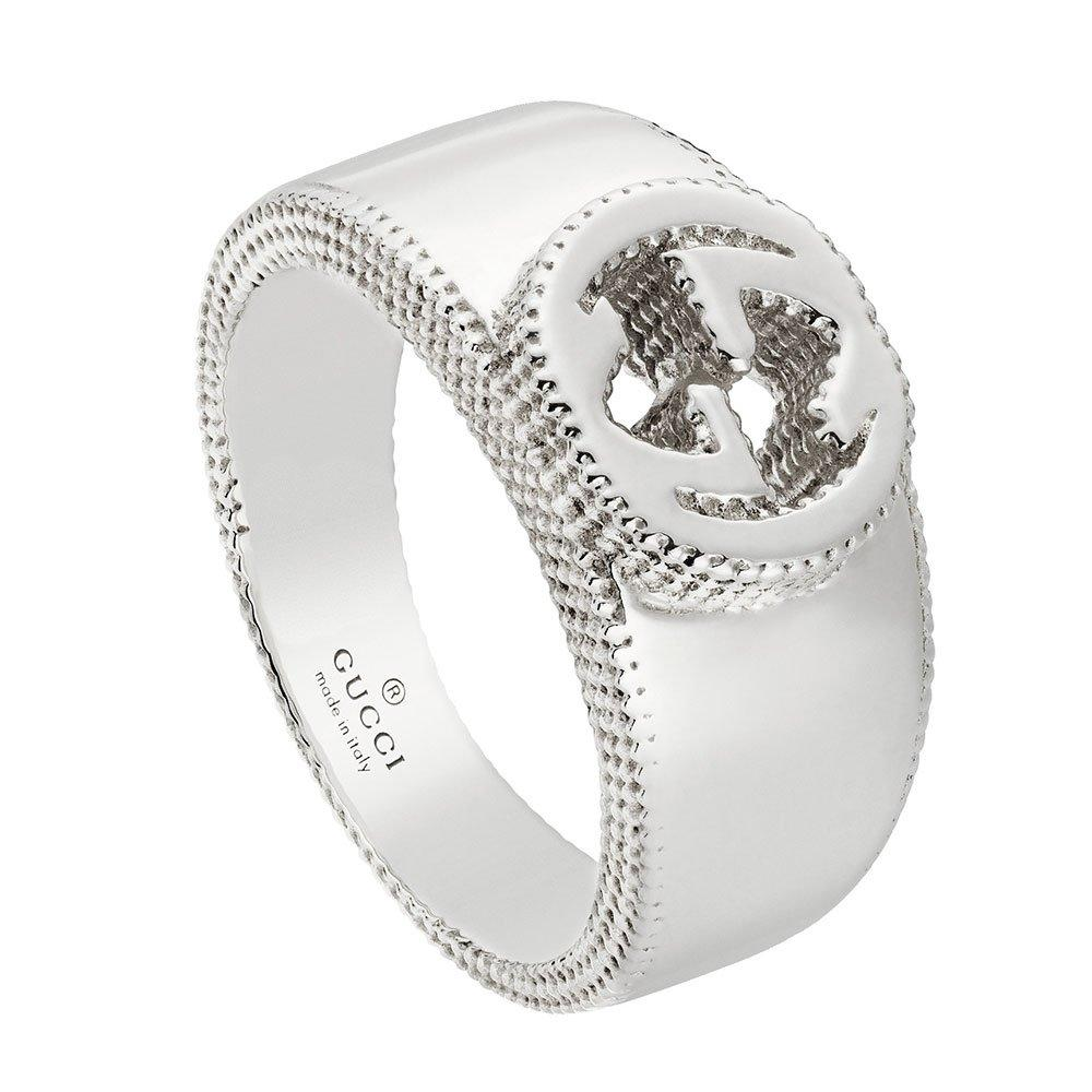 Gucci Interlocking G Silver Ring