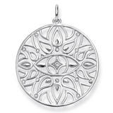 Thomas Sabo Glam & Soul Silver Diamond Evil Eye Pendant