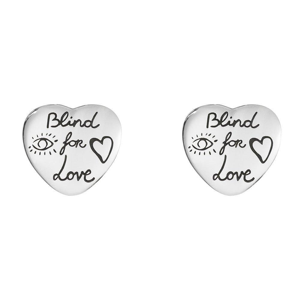 Gucci Blind For Love Silver Earrings