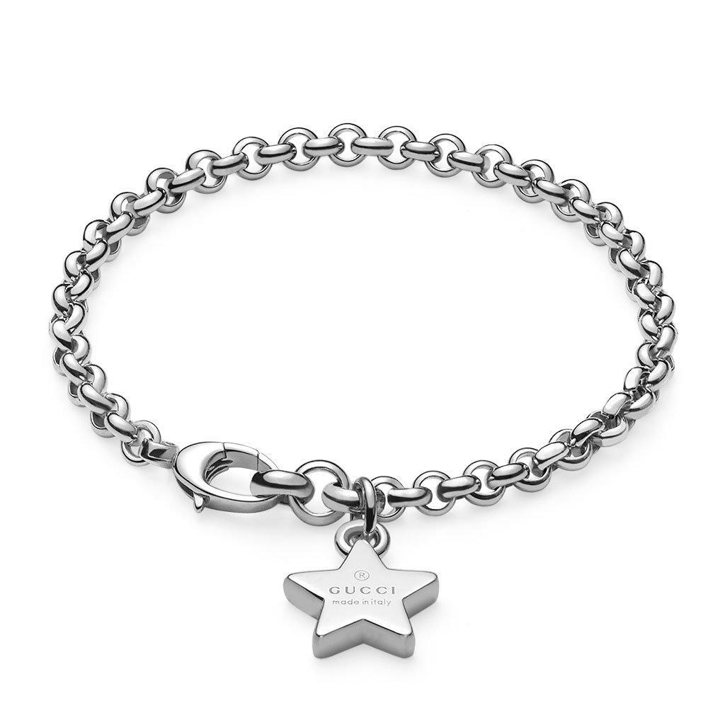 Gucci Trademark Silver Bracelet