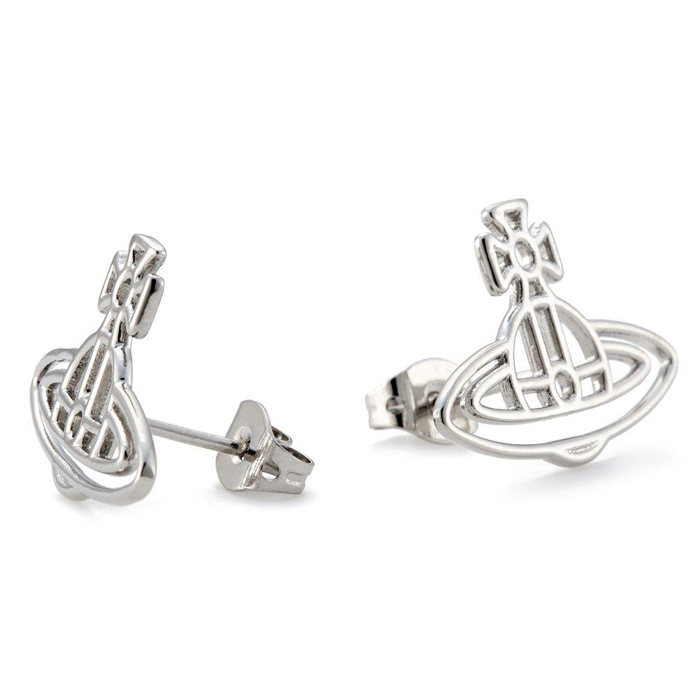 Vivienne Westwood Thin Lines Stud Earrings