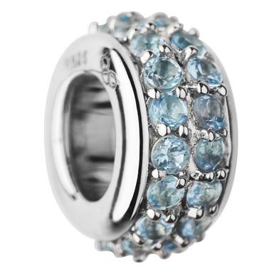 Links of London Sweetie Silver and Blue Topaz Bead