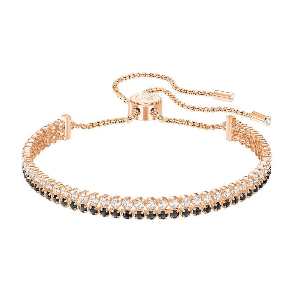 Swarovski Subtle Rose Gold Plated Crystal Bracelet