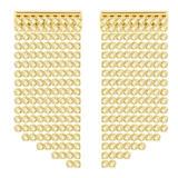 Swarovski Gold Plated Crystal Drop Earrings