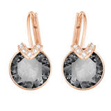 Swarovski Bella Crystal Rose Gold Plated Drop Earrings