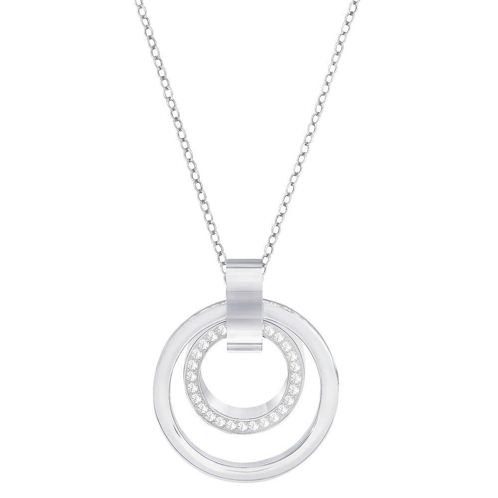 Swarovski Hollow Crystal Circle Pendant