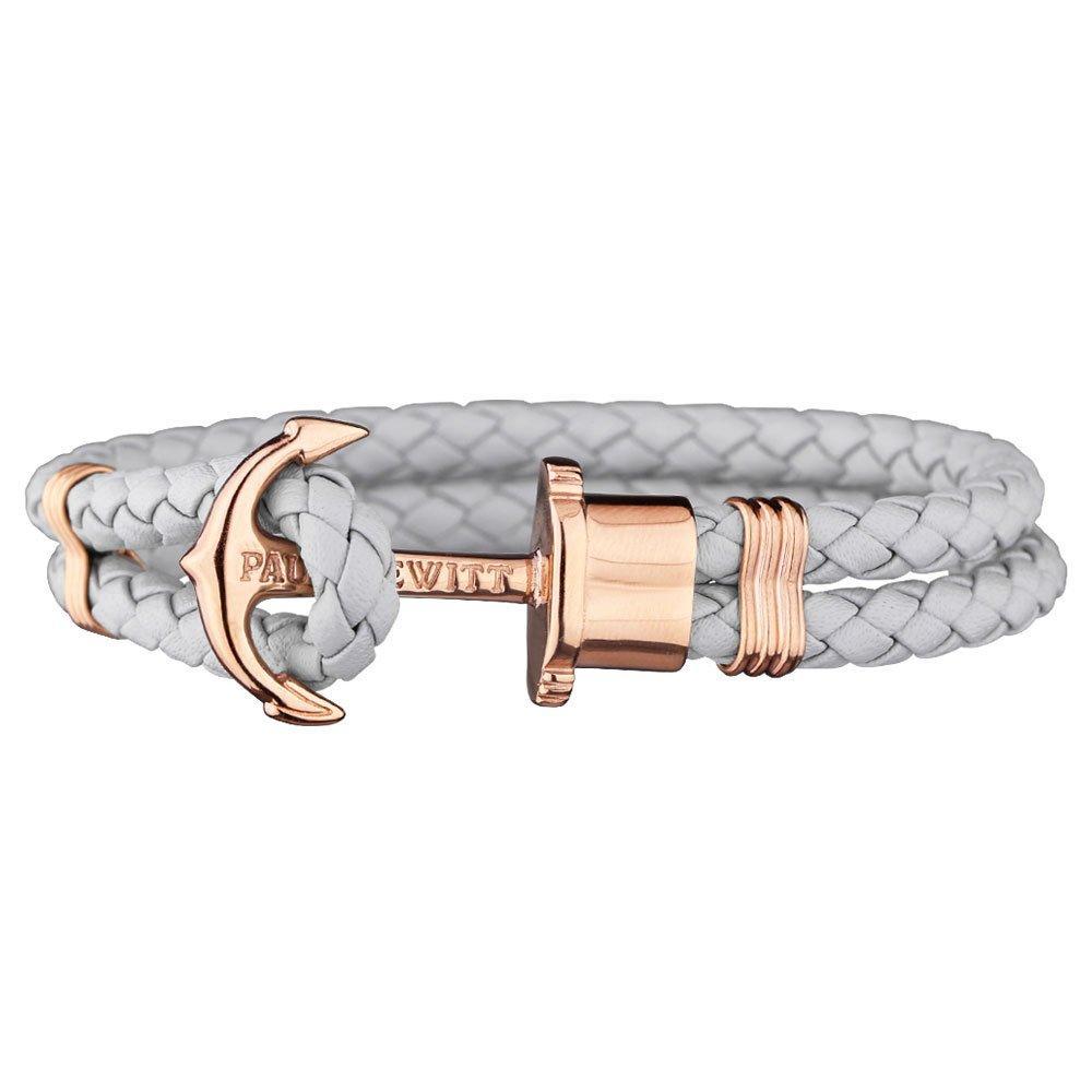 Paul Hewitt Phrep Anchor Rose Gold Plated Bracelet