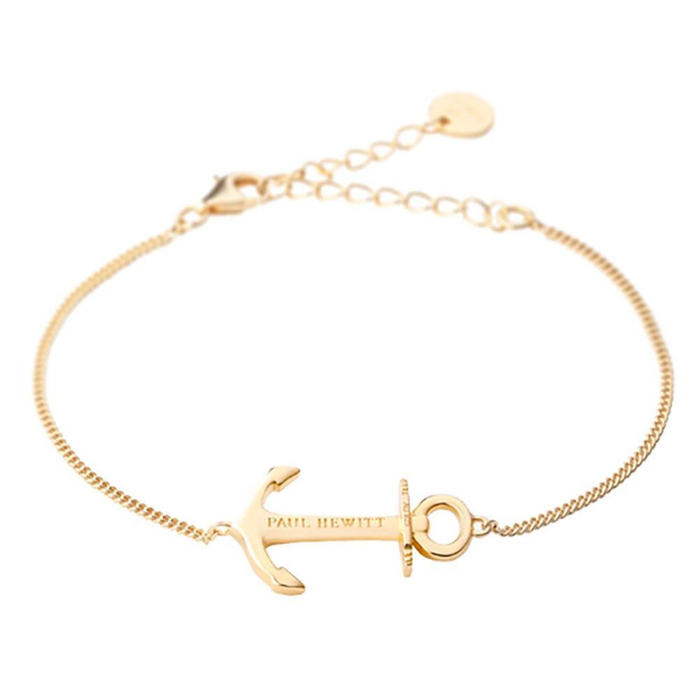 Paul Hewitt Anchor Spirit 18ct Gold Plated Silver Bracelet