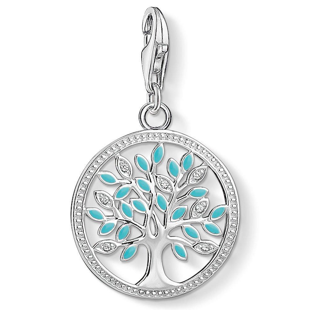 Thomas Sabo Generation Charm Club Silver Tree of Love Cubic Zirconia Charm