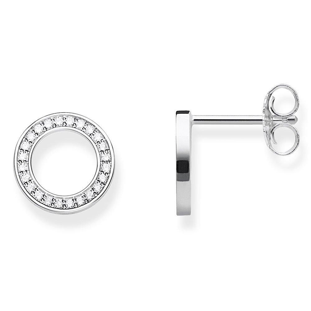 Thomas Sabo Glam & Soul Silver Cubic Zirconia Circle Earrings