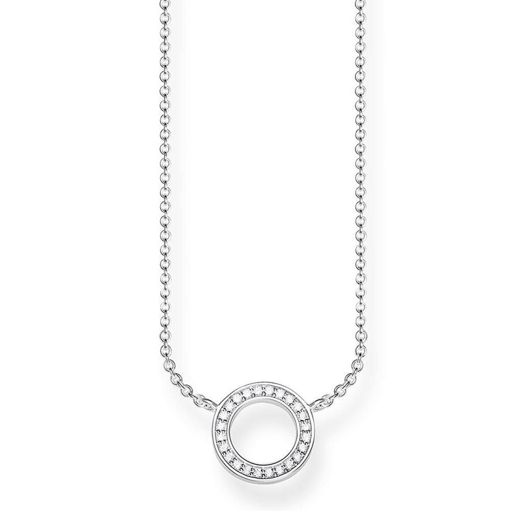 Thomas Sabo Glam & Soul Silver Cubic Zirconia Necklace