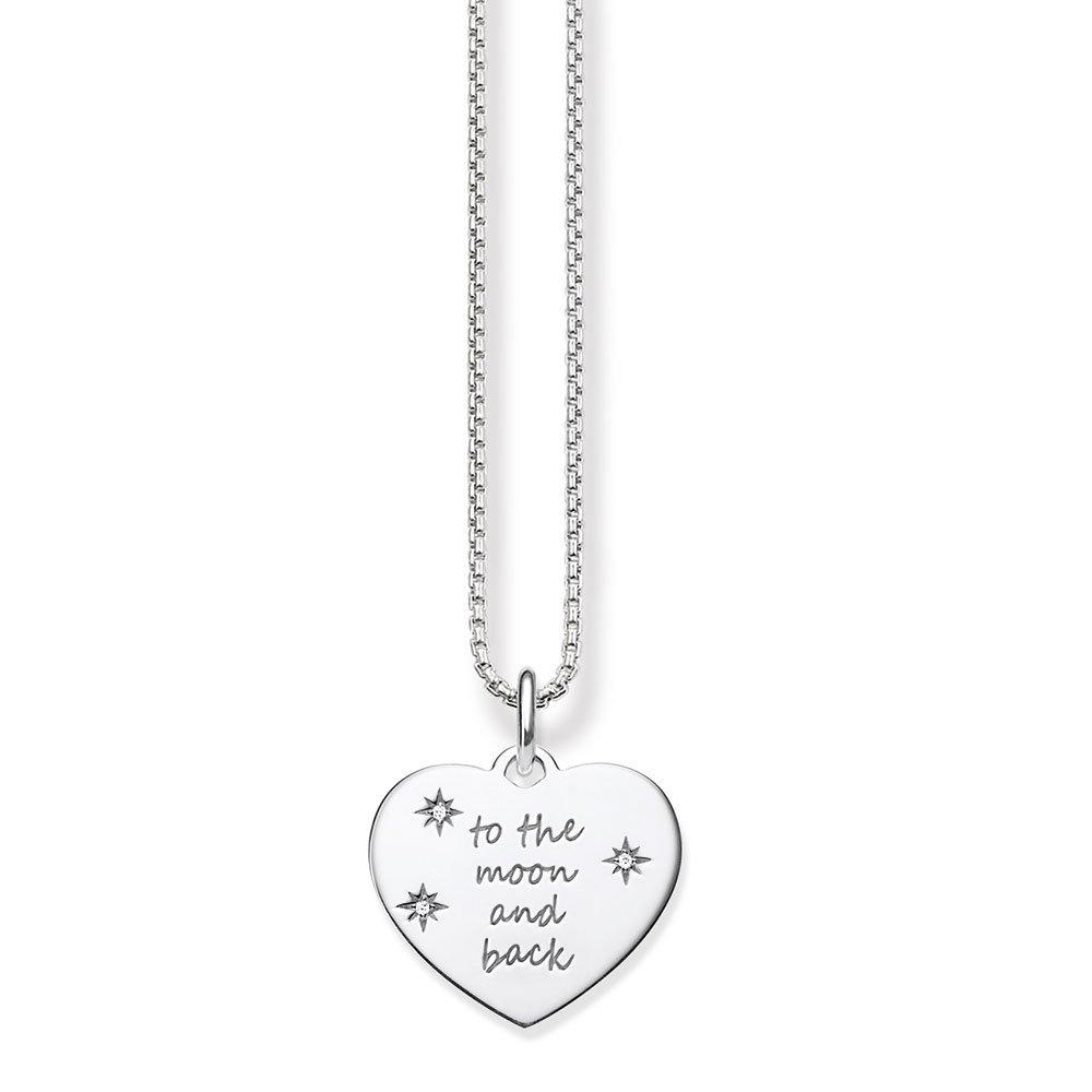 Thomas Sabo Glam & Soul Silver Cubic Zirconia Pendant