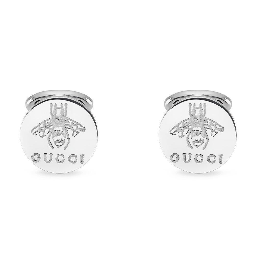 Gucci Trademark Silver Cufflinks